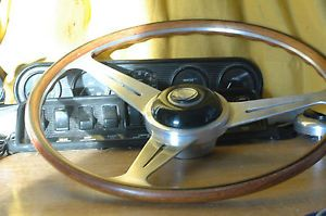 Lancia Fiat Original 60s Nardi Vintage Wood Steering Wheel