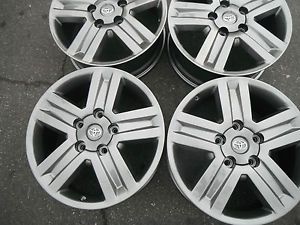 "20"" Tundra Sequoia New Gun Metal Gray Wheels Rims 4 Factory Toyota Parts 4"
