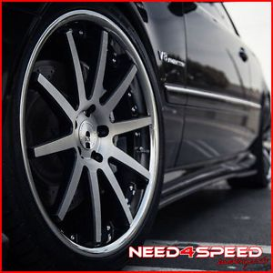 "20"" Audi A7 XO Paris Concave Machined Staggered Wheels Rims"