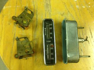 Volvo P1800 P1800S Smiths Oil and Water Coolant Temp Temperature Gauge Parts