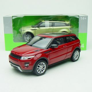 1 24 Welly FX Serie Land Rover Range Rover Evoque Red Full Screen Roof 24021XW