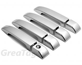 For Range Rover HSE 06 07 08 09 Chrome Door Handle Cover Trim Set