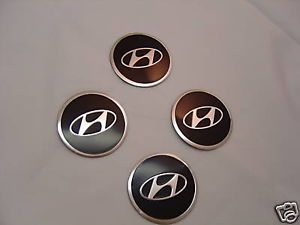 Hyundai Tire Wheel Rim Center Cap Cover Emblem Logo