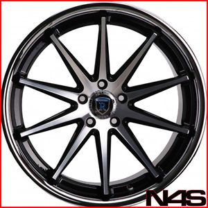 "Brand New 20"" Audi A7 Rohana RC10 Machined Deep Concave Staggered Wheels Rims"