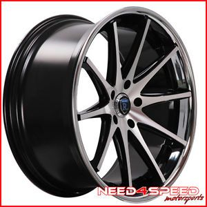 "22"" Cadillac cts V Sedan Rohana RC10 Concave Machined Staggered Wheels Rims"