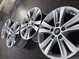 "2014 16"" Hyundai Sonata Kia Optima Soul Factory Stock Wheels Rims 5x114"