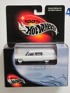 100 Hot Wheels 1963 Cadillac Fleetwood