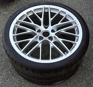 "20"" Corvette ZR1 Wheel Rim Tire 20x12 Rear Factory Stock Wheels Rims"