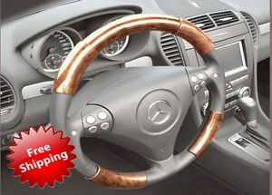 Jaguar XJ 11 12 Wood Grain Pattern Steering Wheel Cover Interior Parts