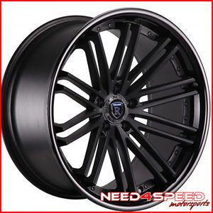 "20"" Lexus IS250 is350 Rohana RC20 Matte Black Concave Staggered Wheels Rims"