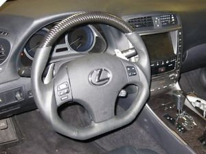 Lexus IS250 is350 isf Is F Black Carbon Sport Steering Wheel Blue Stitching