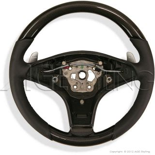 Mercedes Benz Genuine Carbon Steering Wheel AMG SL R230 CLS W219 SLK R171 New