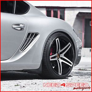 "19"" Porsche 911 996 Turbo GT Roderick RW5 Machined Concave Staggered Wheels Rims"
