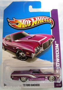 Hot Wheels 1972 72 Ford Ranchero 2013 Super Secret Treasure Hunt Purple w RR