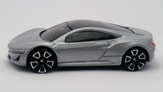 Hot Wheels 2012 Acura NSX Concept Diecast HW Showroom All Stars Vehicle 156