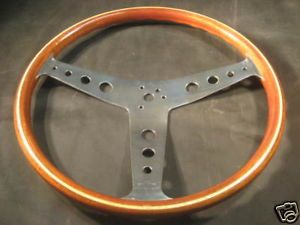 Personal Nardi Wood Steering Wheel MG 356 Jaguar Alfa Datsun BMW 911 Fiat Spider