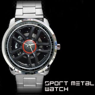 New Fiat 500 Twinair Honitzer Watch Car Wheel Coupe Alloy Tire Rim Brembo RC Cap