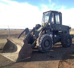 1983 Fiat Allis FR12 Fr 12 Wheel Loader Runs Great Very Low Hours