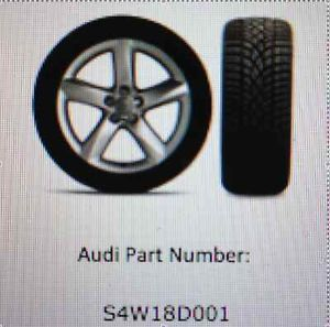 Audi S4 Winter Wheel Tire Package