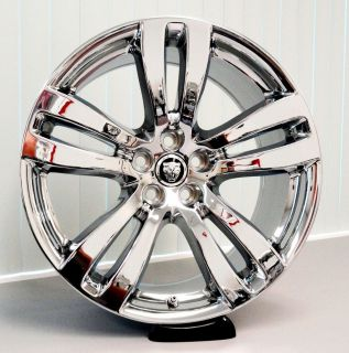 "4 Chrome PVD 19"" Jaguar XJL XJ Wheels 59873 59874 Toba"