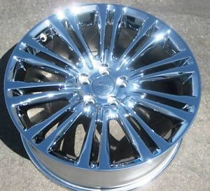"2012 20"" Factory Dodge Chrysler 300 300C Chrome Wheel Rims 1 Single Rim 2420"