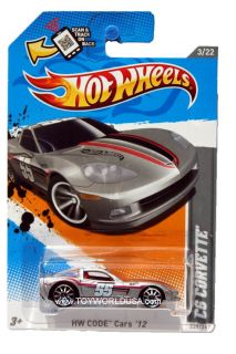 2012 Hot Wheels HW Code Cars 228 Chevrolet Corvette C6