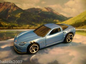 2011 Corvette Grand Sport 2011 Hot Wheels New Models Series Blue
