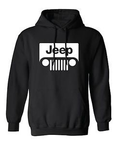 Jeep Hoodie Chrysler Sport Utility Vehicle Off Road 4 Wheel Fleece Sweatshirt