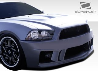 2011 2013 Dodge Charger Duraflex Hot Wheels Front Bumper Body Kit