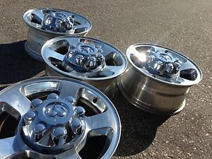 "4 17"" Dodge RAM 2500 Laramie Cummins Factory Stock Wheels Rims 8x165"