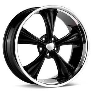 Boss 338 5x4 5 Rims 18 inch Black Wheel Ford Dodge