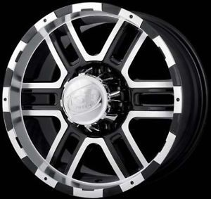 Ion 179 Wheels Rims 17x8 Ford F150 F250 7x150mm 7 Lug