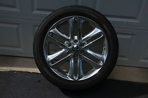 "4 2013 Genuine Factory 22"" Ford F 150 Limited Wheels Rims Tires"