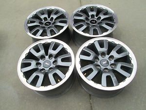 "17"" Ford F150 SVT Raptor Factory Alloy Rims Wheels 2010"
