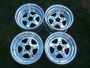 "RARE Vintage Cragar ""Street Star"" Rims 15"" Wheels 5 Lug Ford Dodge Hot Rat Rod"