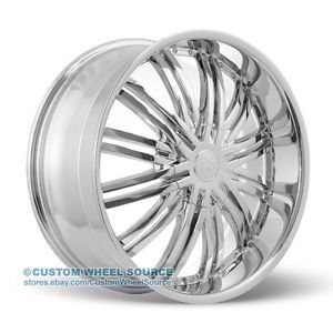 "18"" Redsport RSW99 Chrome Wheels for Dodge Fiat Ford Honda"