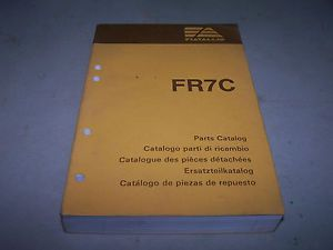 Fiat Allis FR7C Wheel Loader Parts Catalog for s N R7B 2T Engine 8045 05 395