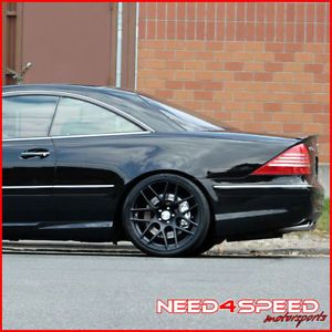 "20"" Infiniti G35 Sedan Rennen RS7 Black Concave Staggered Wheels Rims"