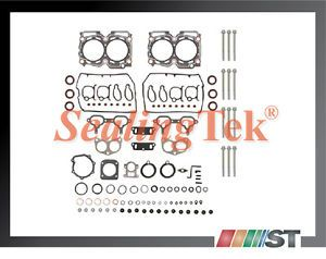 97 99 Subaru EJ25D DOHC Engine Head Gasket Set w Bolts Kit Cylinder Auto Parts
