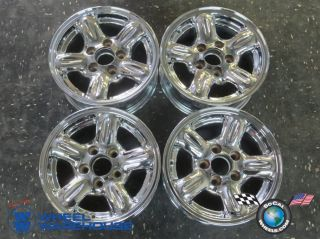 98 03 Mazda B3000 B4000 Ranger Factory 14 Chrome Wheels Rims 64808