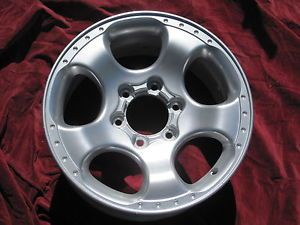 "Nissan Frontier Wheel Rim Supercharged 62441 17"" 2001 2004"