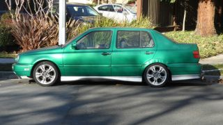 1996 VW Jetta with Custom Paint Body Kit Rims and Modified Parts