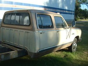 1985 Dodge D350 Crew Cab Project Truck Cab Four 4 Door 81 93 Parts Project