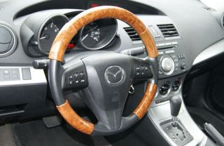 Lexus GX470 03 06 Wood Grain Pattern Steering Wheel Cover Restyling Parts KY201