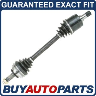 New Complete Front Right Driveshaft CV Axle Honda Acura Integra Civic Del Sol