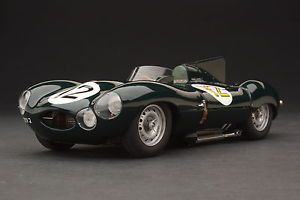 1954 Exoto XS Jaguar D Type Le Mans Over 2600 Parts Scale 1 18 RLG88001