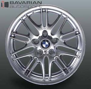 BMW Motorsport Style 65 Front Wheel 18 x 8 for BMW E39 M5 2001 2003