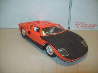 Ford Race Car Built Model Kit Parts