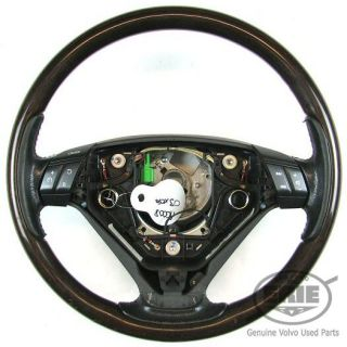 Volvo Wood Grain 3 Spoke Steering Wheel for S60 S80 V70 XC90 2003 2004