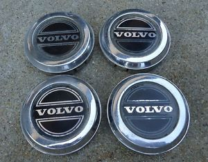 81 82 83 84 85 Volvo 240 260 5 Spoke Alloy Wheel Center Cap Set